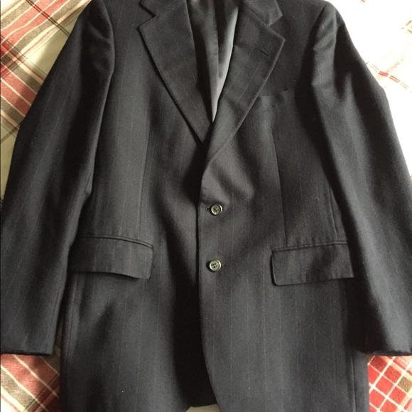 Ralph Lauren Polo navy striped blazer (39R)